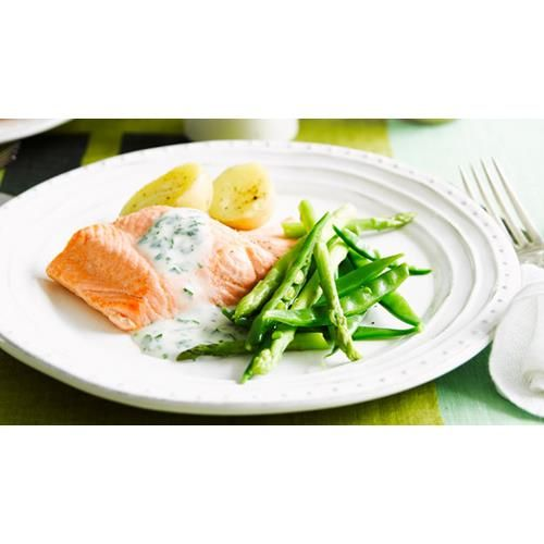 Poached salmon with parsley sauce recipe - By Australian Women's Weekly
