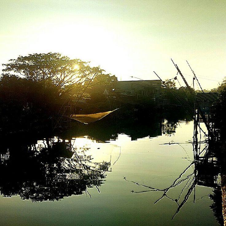 Morning shadow.........Jepara, Central Java by Condroyono