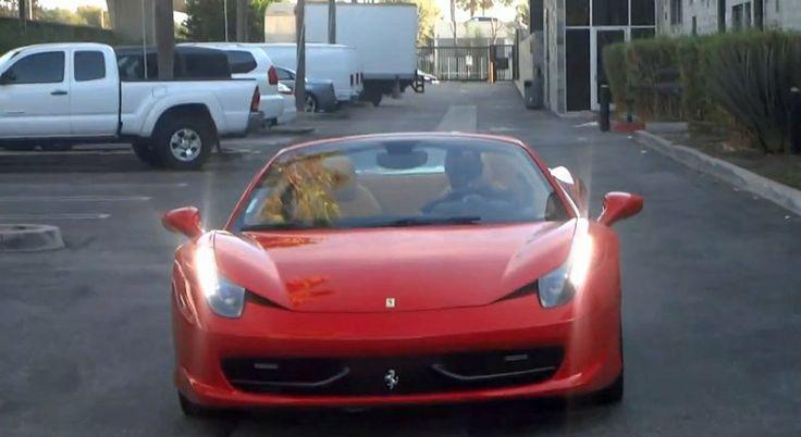Kobe Bryant's Cars-458 Italia