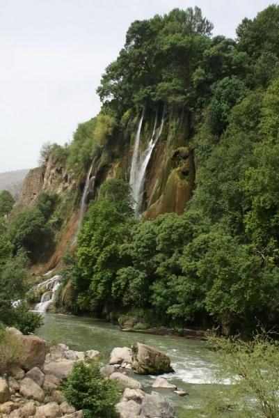 Bishe waterfall, Lorestan province, Iran