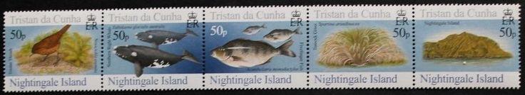 Islands, 4th series stamps, 2006, Tristan da Cunha, SG ref: 850-854, MNH
