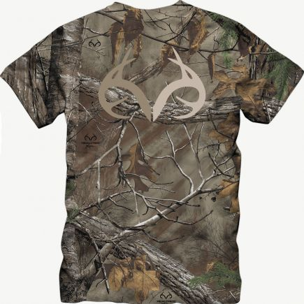 Realtree Outfitters Camo Xtra Two-Toned Antler Tee #Realtreegear