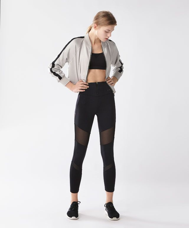 Bomber jacket - New In - Spring Summer 2017 trends in women fashion at Oysho online. Find lingerie, pyjamas, slippers, nighties, gowns, fluffy, maternity, sportswear, shoes, accessories, body shapers, beachwear and swimsuits & bikinis.