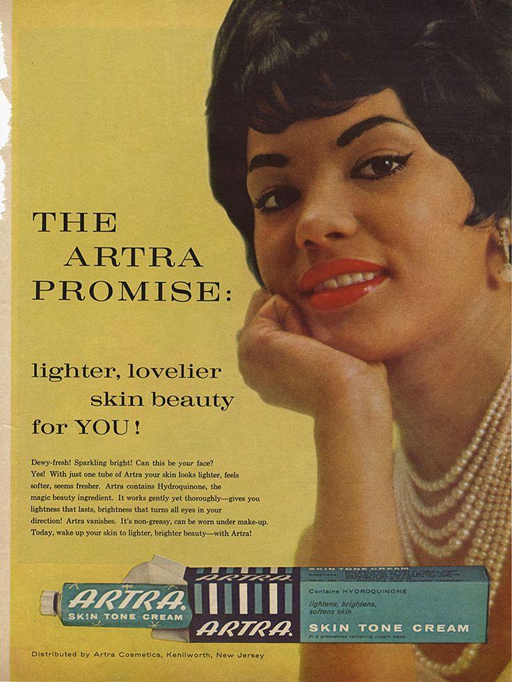 Artra Skin Tone Cream {circa 1964} Skin bleaching, Skin