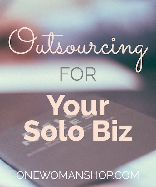 Guest post over at One Woman Shop. 3 questions to ask to know if it's time to outsource