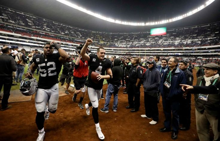 NFL Week 11 picks: Raiders fall to Patriots in Mexico