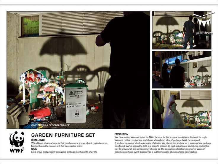 "WWF - ""Garden Furniture Set"" - Jakub Korolczuk Creative Profile"