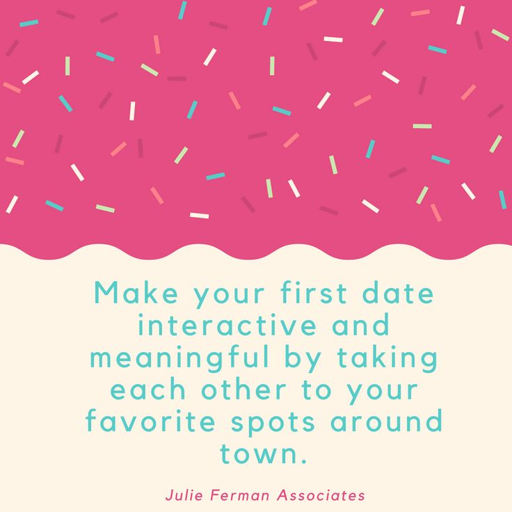 Make your first date interactive and meaningful…