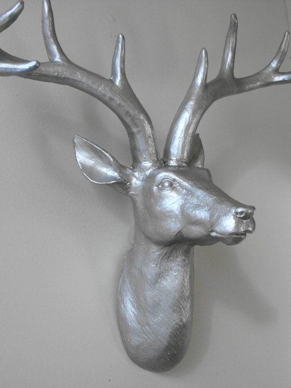 luxury ideas fake deer. Platinum Faux Deer Head Taxidermy Stag by hodihomedecor  79 00 117 best images on Pinterest Cow head and Horns