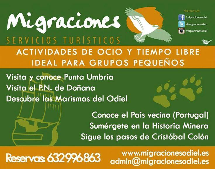 #Excursiones en #Huelva para pequeños grupos. Disfruta del turismo y de tu tiempo.