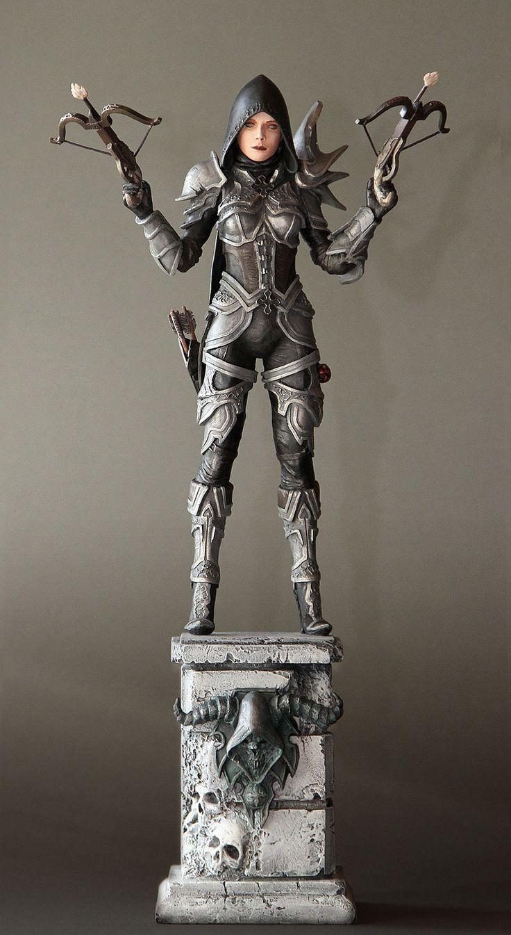 Whoa! Someone put a lot of effort into making this: Diablo III - Demon Hunter by 123samo.deviantart.com