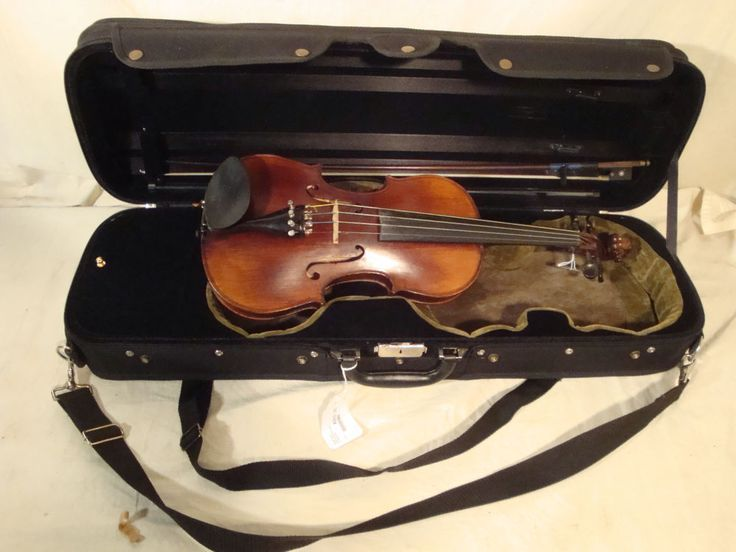Amanti 4/4 Full Size Violin with Case and Bow