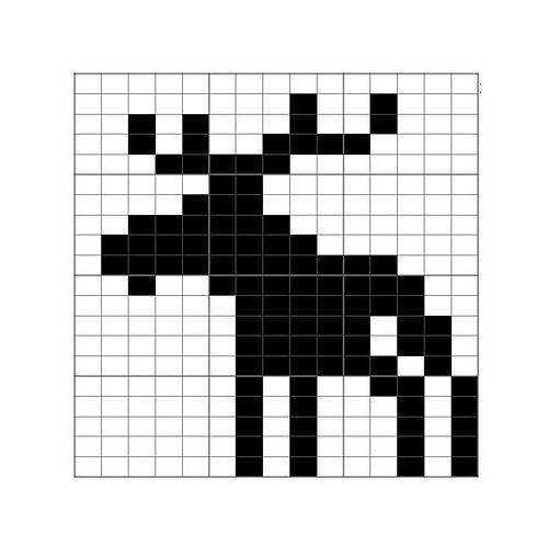 Ravelry: Moose Chart pattern by Laurak Nelson