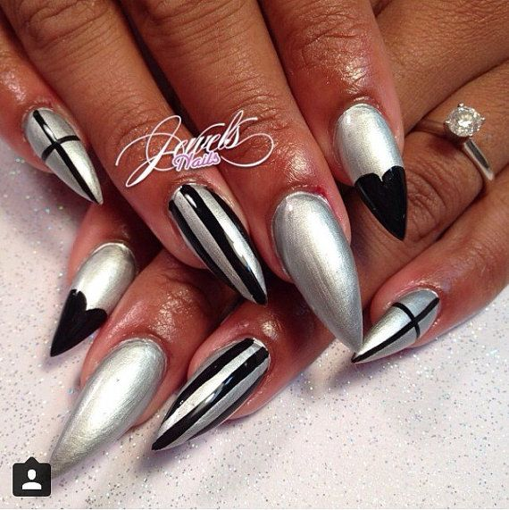 81 best PRESS ON NAILS ON SALE* (www.jewelsnails.etsy.com) images on ...