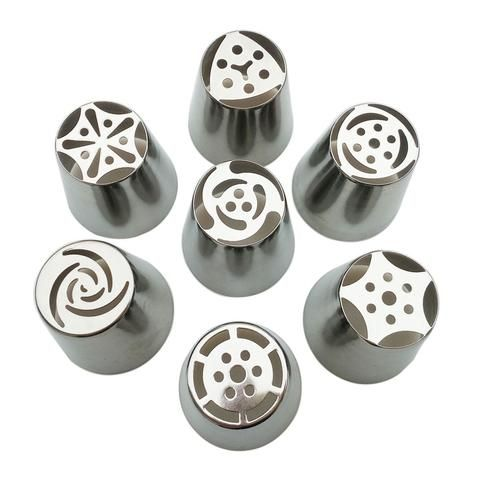 Stainless 7 pieces for icing cake