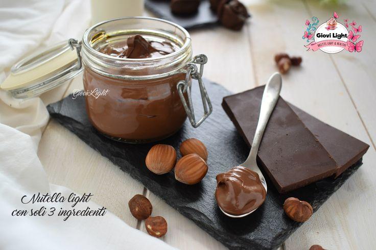 Nutella light con soli 3 ingredienti