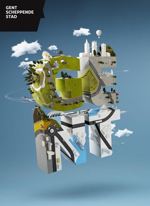 Geng Scheppende Stad, type exploreation, 3d, map