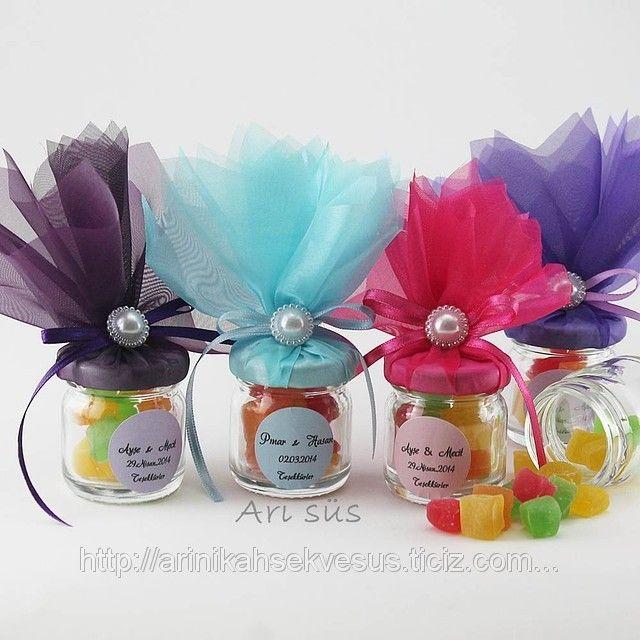 Nikah Şekeri Kavanoz Lokumlu, Renkli (ID#828554): satış, İstanbul'daki fiyat. Arı Nikah Şekeri Ve Süs adlı şirketin sunduğu Karma Süslenmiş Hazır Nikah Şekerleri Modelleri, Ucuz Kampanyalı İndirimli