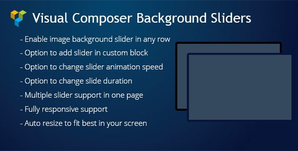awesome Visual Composer Background Sliders v1.3 WordPress Plugin