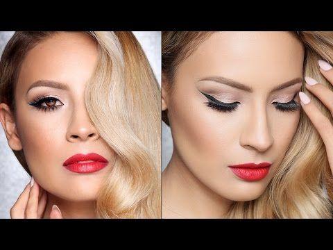 ▶ Classic Hollywood Makeup Tutorial (Talk Through) - YouTube
