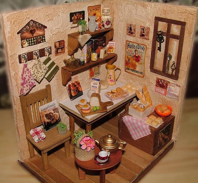 225 Best The Miniature Kitchen Images On Pinterest: 31 Best Miniature Country Dollhouse Images On Pinterest