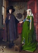 Portrait of Giovanni Arnolfini and his Wife 1434  by Jan Van Eyck