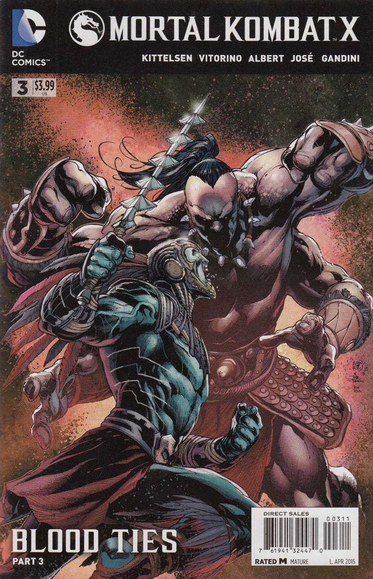 Mortal Kombat X - Blood Ties Part 3 (Issue)