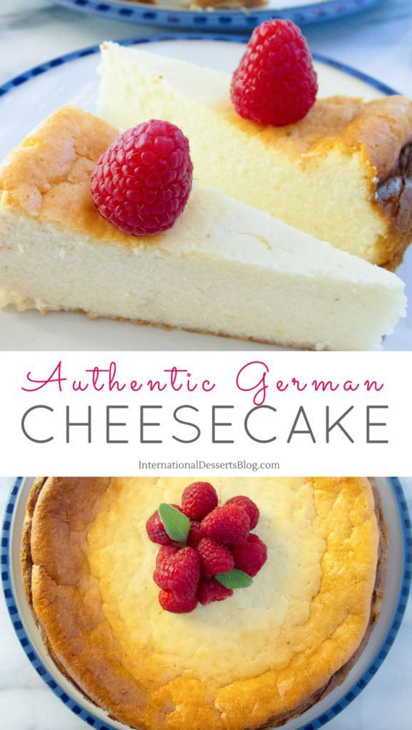 Best German Cheesecake With Quark Crustless Cheesecake Version Recipe International Desserts Easy Cheesecake Recipes Desserts