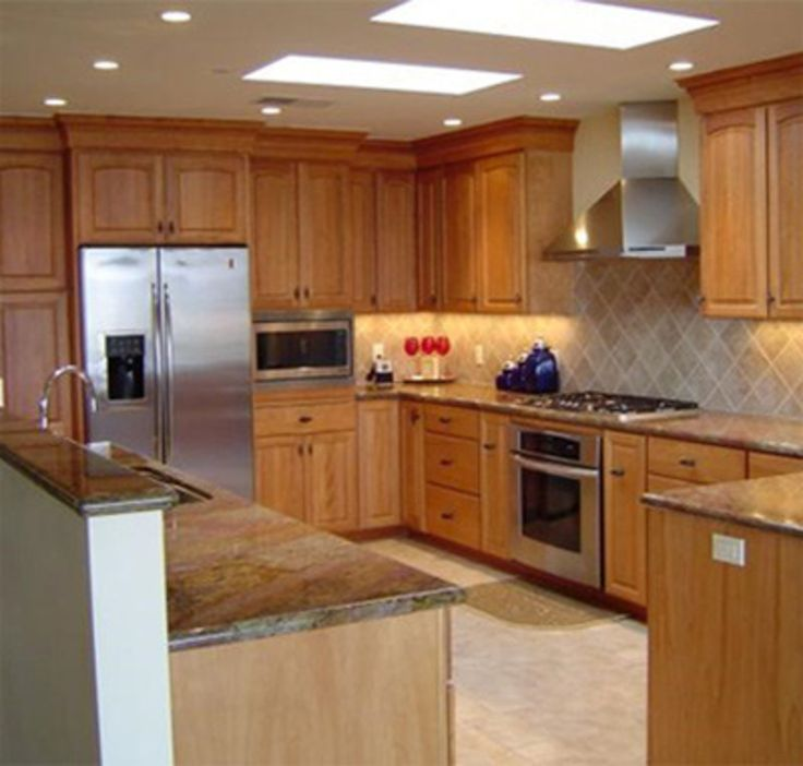 Maple Kitchen Cabinets And Wall Color kitchen cabinets and wall color pin more on ideas for the house