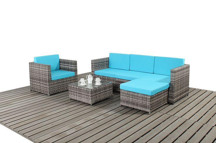 Comodo, colorato e ideale per ogni tipo di spazio all'aperto.