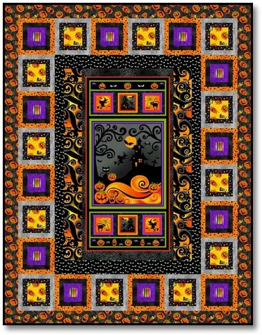 267 best Halloween Quilts images on Pinterest | Fall quilts ... : quilt panel kits - Adamdwight.com