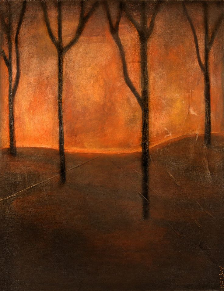 Rust In Peace. Large abstract, mix media painting of trees. by KellyArtwork1 on Etsy https://www.etsy.com/listing/158092562/rust-in-peace-large-abstract-mix-media