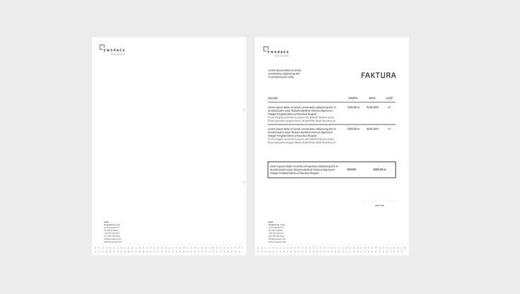Enspace #branding #design #identity #corporate #id #print #pleo