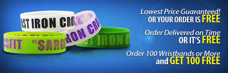 This is the official Wrist-Band.com Pinterest page. Visit us online at: http://www.wrist-band.com/