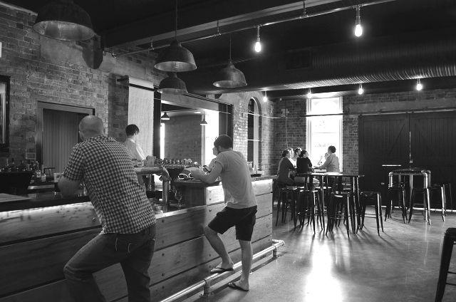 The bar at Four Hearts Pumpyard Bar and Brewery #Beer #CraftBeer #IpswichQld http://www.theothercapital.com/2015/03/pumpyard-bar-brewery.html
