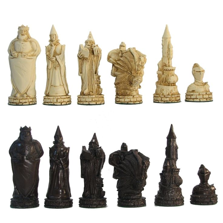 78 images about cool chess boards on pinterest buffalo soldier medieval and medieval knight - Granite chess pieces ...