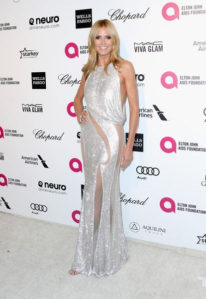 Heidi Klum Photos Photos - TV personality Heidi Klum attends the 23rd Annual Elton John AIDS Foundation's Oscar Viewing Party on February 22, 2015 in West Hollywood, California. - Arrivals at the Elton John AIDS Foundation Oscars Viewing Party — Part 4