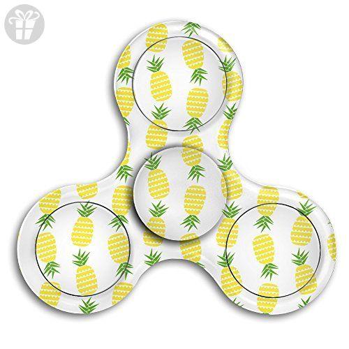 Tri Spinner Spinner Fidget Toy Hand Spinner PINEAPPLE Bearing Stress Anxiety - Fidget spinner (*Amazon Partner-Link)