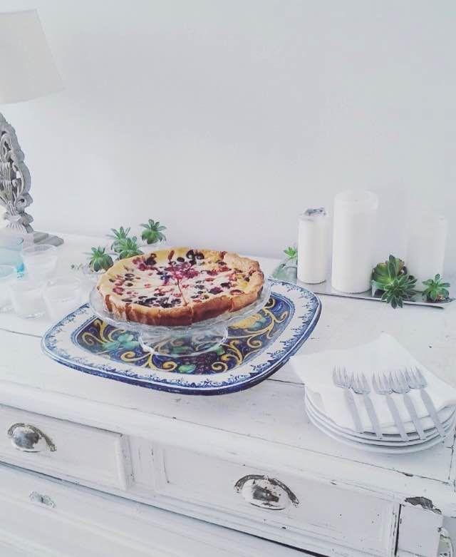 Fruit pie, the healthy dessert