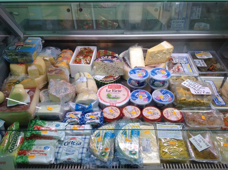 Assortimento formaggi.