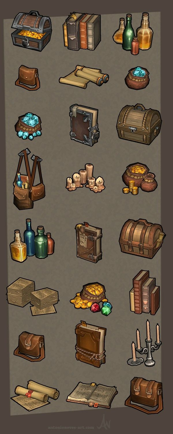 Show your hand painted stuff, pls! - Page 42 - Polycount Forum