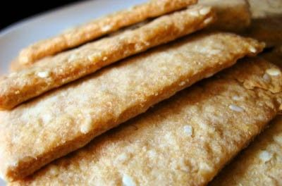 HOMEMADE CRACKERS Recipe- Daniel Fast
