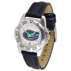 NCAA Florida Gators Ladies Gameday Watch with Leather Band by Football Fanatics. $44.95. Officially licensed collegiate product. Florida Gators Ladies Gameday Watch with Leather BandOfficially licensed collegiate productOfficially licensed collegiate product