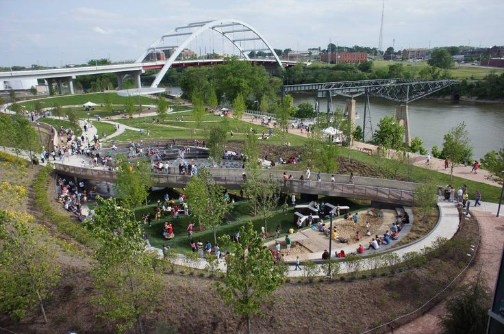 Gallery of Cumberland Park / Hargreaves Associates - 14