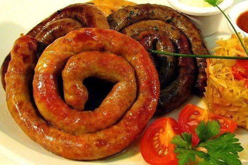 БЕШАМЕЛЬ: Мясные колбаски в домашних условиях