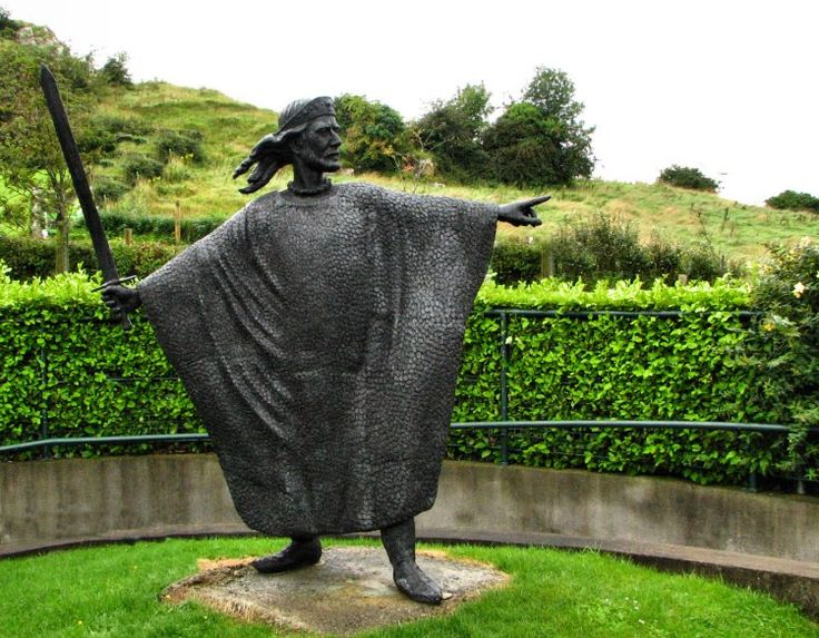 Statue of Brian Boru, the legendary last great High King of Ireland