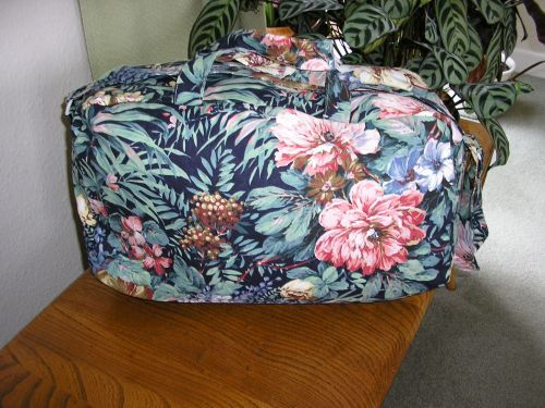 Weekend/overnight Bag Tropical Cotton