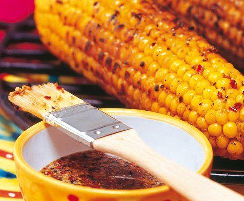 Epi de maïs mariné au miel (à adapter en vegan)