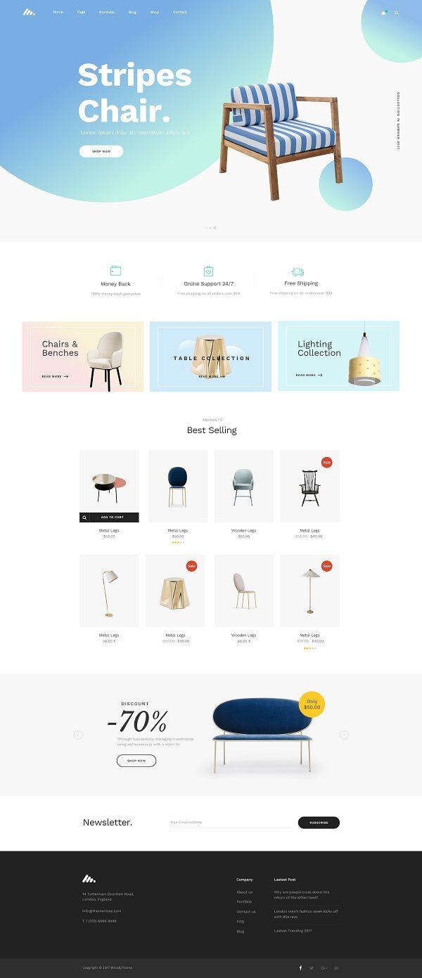 Interior Shop PSD