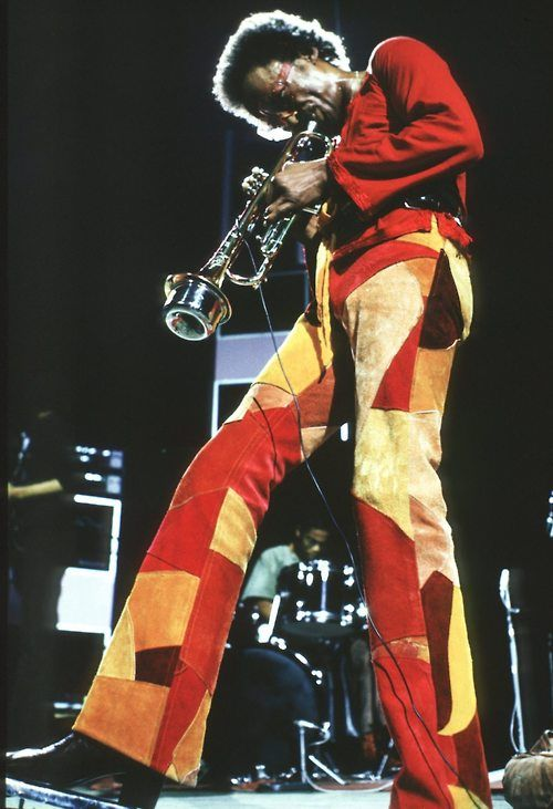 Miles, love the colours, trouser shape and patchwork - GL